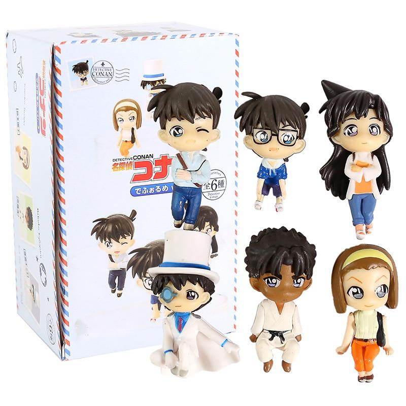BANDAI Detective Conan shrink to Corps 3 Gashapon 6 set mini figure toys Japan