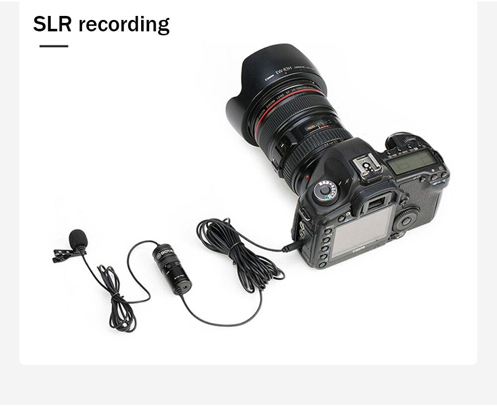 BOYA BY-M1 Pro Universal Lavalier Microphone 7