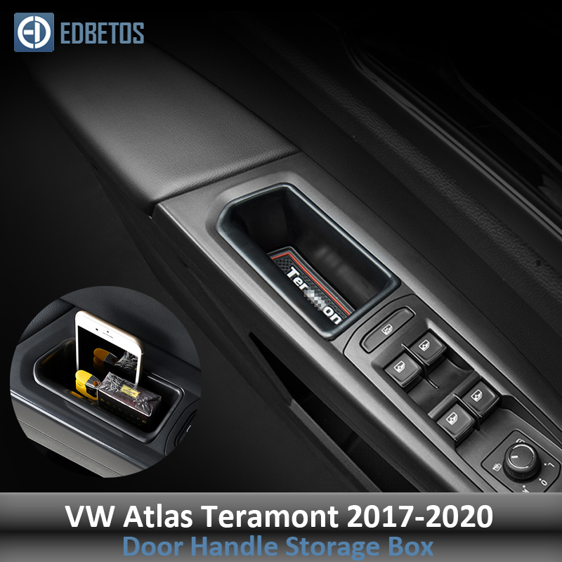 Box-Holder Organizer Storage-Box Door-Handle Atlas Teramont VW Volkswagen for Car-Interior title=