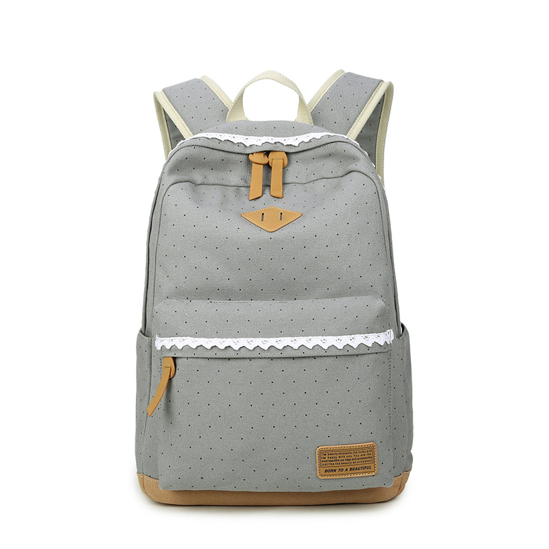 New Women/'s Backpack Schoolbag Canvas Schoolbag Printed Backpack