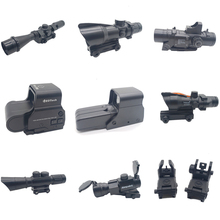 Gun Gel-Ball Rifle-Toys Holographic-Sight Water-Bullet Diy-Accessories Cs-Game Outdoor