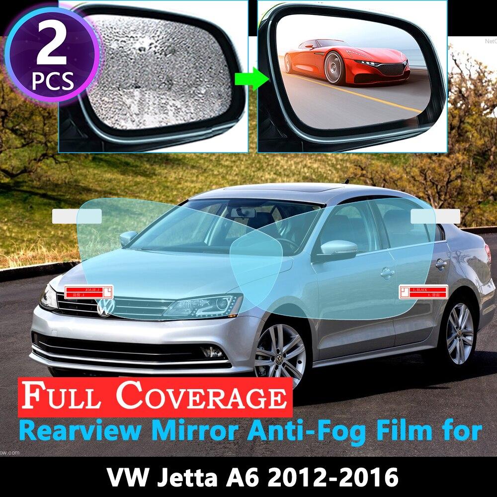 Custom Side Mirror Clear Paint Protection Film for 2012-2017 Audi A6 Sedan