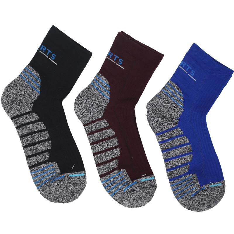 Hyrax trends Men/'s hiking socks Terry soles are comfortable and breathable Stitching color Men/'s outdoor sports socks