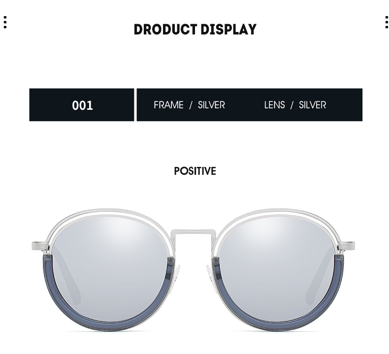Sunglasses Women Vintage Round Sun Glasses Polarized Lens UV400 Anti Reflective Summer Polarized Women Snnglasses (22)