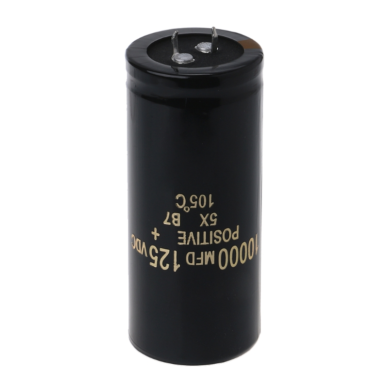 Aluminum Electrolytic Capacitor Snap In 10000uF 125V 10000 mfd 35*70