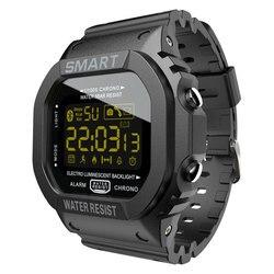 LOKMAT Bluetooth Смарт часы для мужчин Спорт Шагомер водонепроницаемый напоминание о звонках Часы Цифровые SmartWatch для ios Android телефон