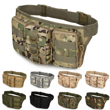 Waterproof Molle Military Men Tactical Waist Bag Outdoor Sports Hiking Hunting Riding Army Pouch Bags Climbing Belt Bag