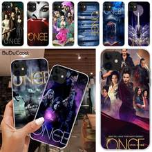 Мягкий черный чехол для телефона LJHYDFCNB Once Upon a time Для iphone 5C 5 6 6s plus 7 8 SE 7 8 plus X XR XS MAX 11 Pro Max(China)