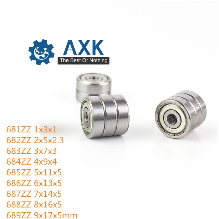 10pcs 684ZZ Miniature Bearings ball Mini bearing 4*9*4mm Ball Bearings