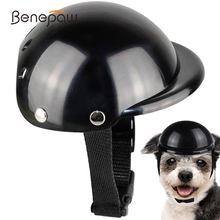 Helmet Motorcycle Pet-Cap Cycling-Head-Protection Dog Stylish Strap Benepaw for Padded
