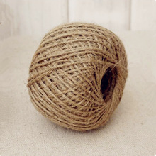 Twine String Cord Hemp-Rope Jute Brown Natural Craft-Making DIY 30M 1-Roll Shank Hot-Sale