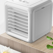 Air Conditioner Desktop USB Mini Cooler Humidifier Portable 7 Colors Electric 7-color Water White Light Humidificador