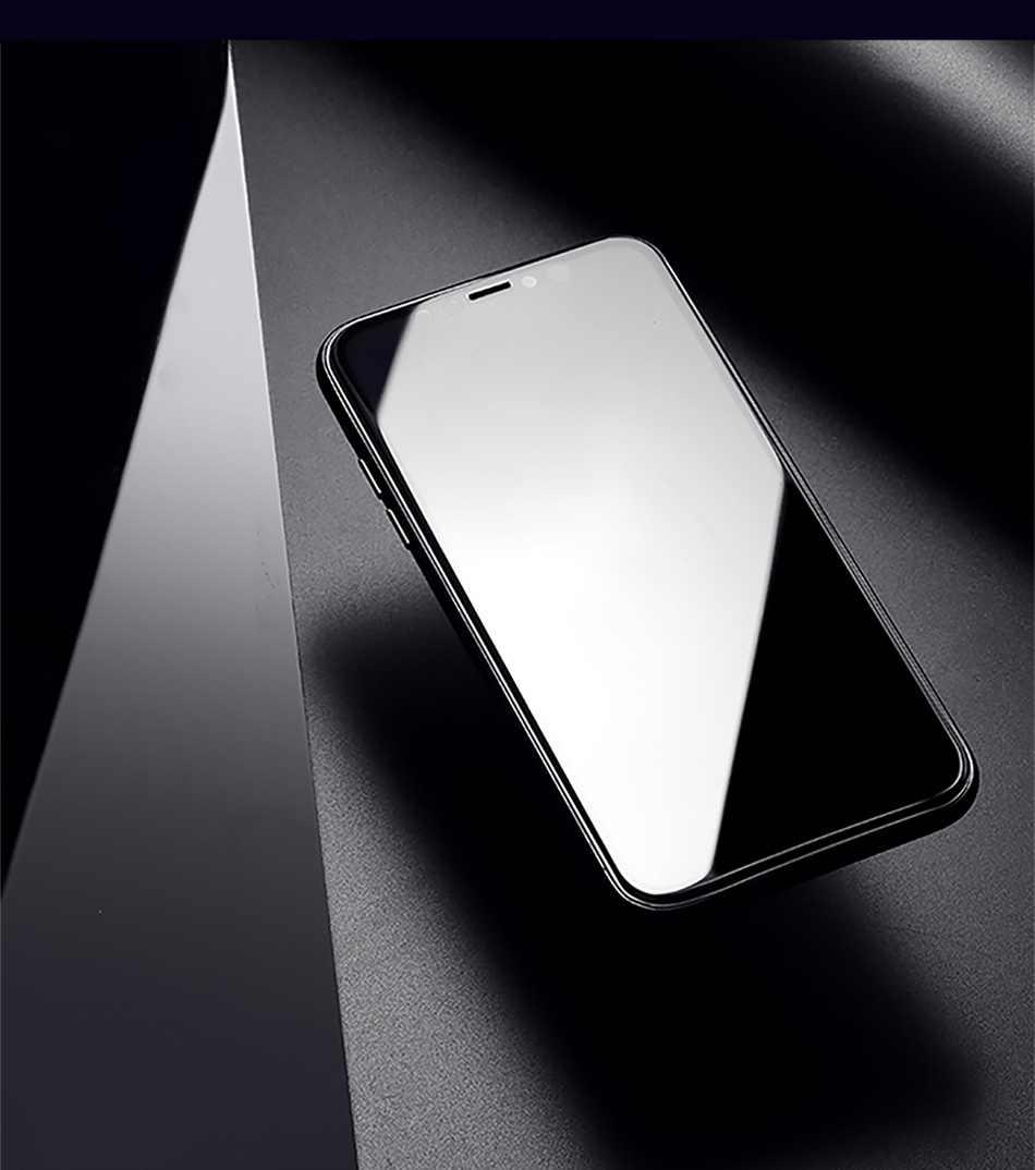 Benks Anti Spy Tempered Glass For iPhone XS 5.8'' XS MAX 6.5'' Full Protection Cover For XR 6.1 Screen Protector Anti Glare Front Film (12)