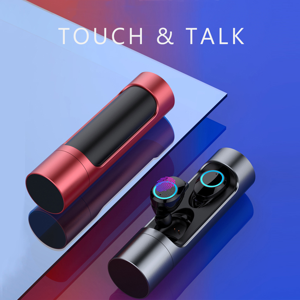 X8 WTS Headphone Bluetooth Dual Earbuds for Mobile Phone Factory Supply Waterproof Work Out Noise Reduction Low Frequency