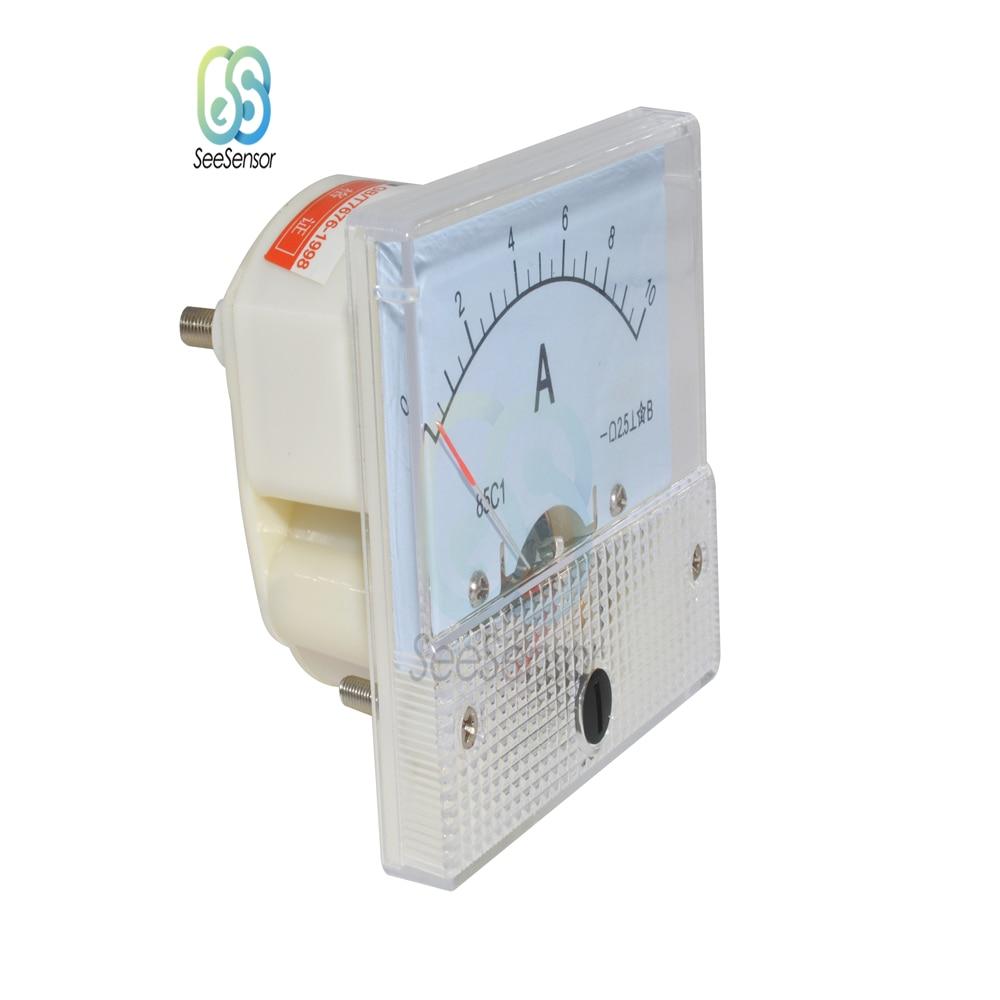 Fransande Amperimetro Analogico Rectangulo 85C1 CC 0-10A