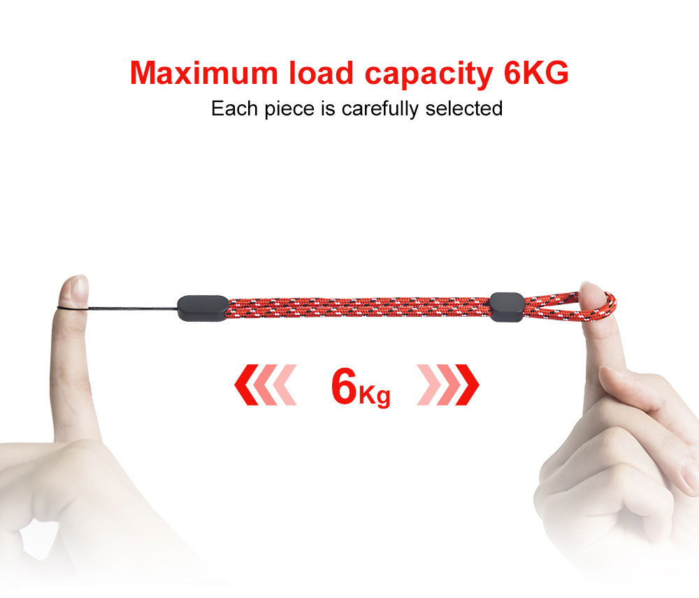 Ascromy Mobile Phone Wrist Strap Lanyard For Key iPhone 7 8 Plus Xiaomi Hand Straps Camera Cell Gadget Keycord tour de cou clef Accessories (2)