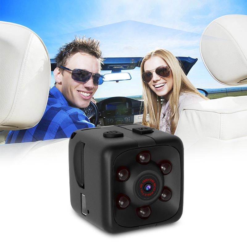 Cushion - Mini Camera HD 1080P Night Vision Motion Sensor Micro Video Camera