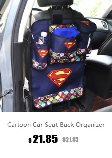 Microfibra de piel cubierta de la rueda del coche de direcci/ón de rueda de coche Spiderman Iron Man Superman Batman de dibujos animados Color : G