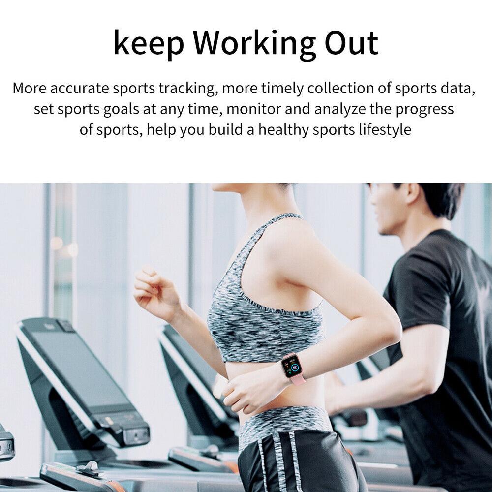 Person - Smart Watch Waterproof Smartwatch For Android IOS Smart Watch Kids Men Women Heart Rate Monitor Blood Pressure Watch