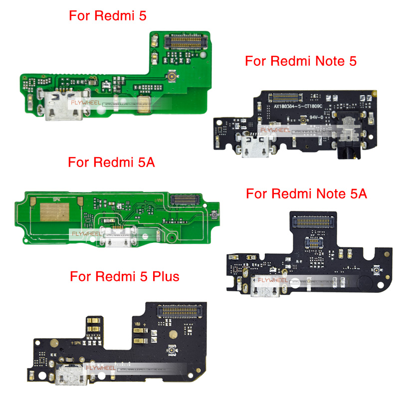 Socket-Port-Connector Charger Dock-Plug Replacement-Parts Data-Flex-Cable Xiaomi Redmi title=