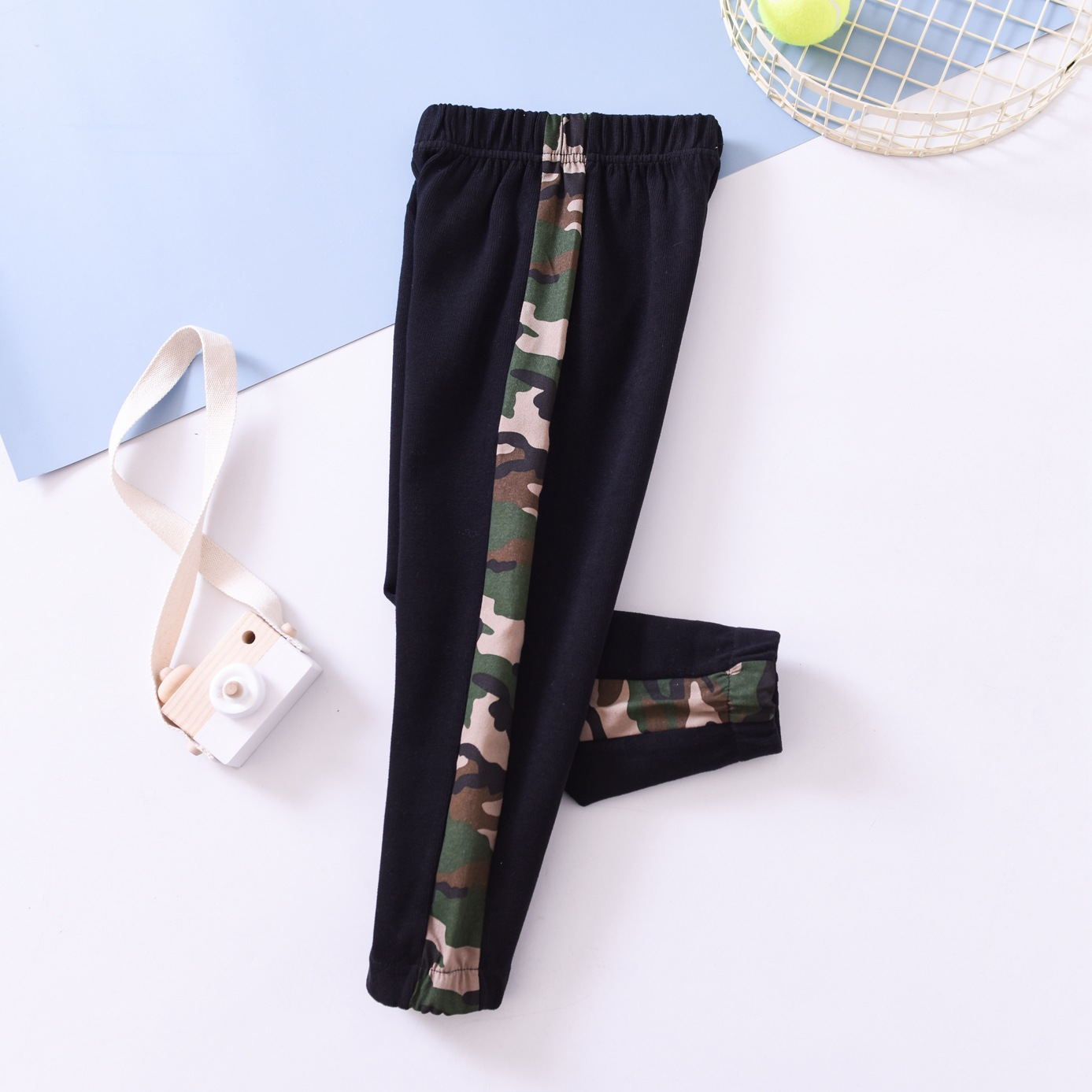 Baby Camouflage Pants 2020 Spring Boy Girls Casual Pants Children/'s Clothing Wholesale