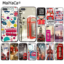 MaiYaCa london bus england telephone Big Ben Phone Case for Huawei Honor 8X 9 10 20 Lite Honor 7A 7C Honor10i View20(China)