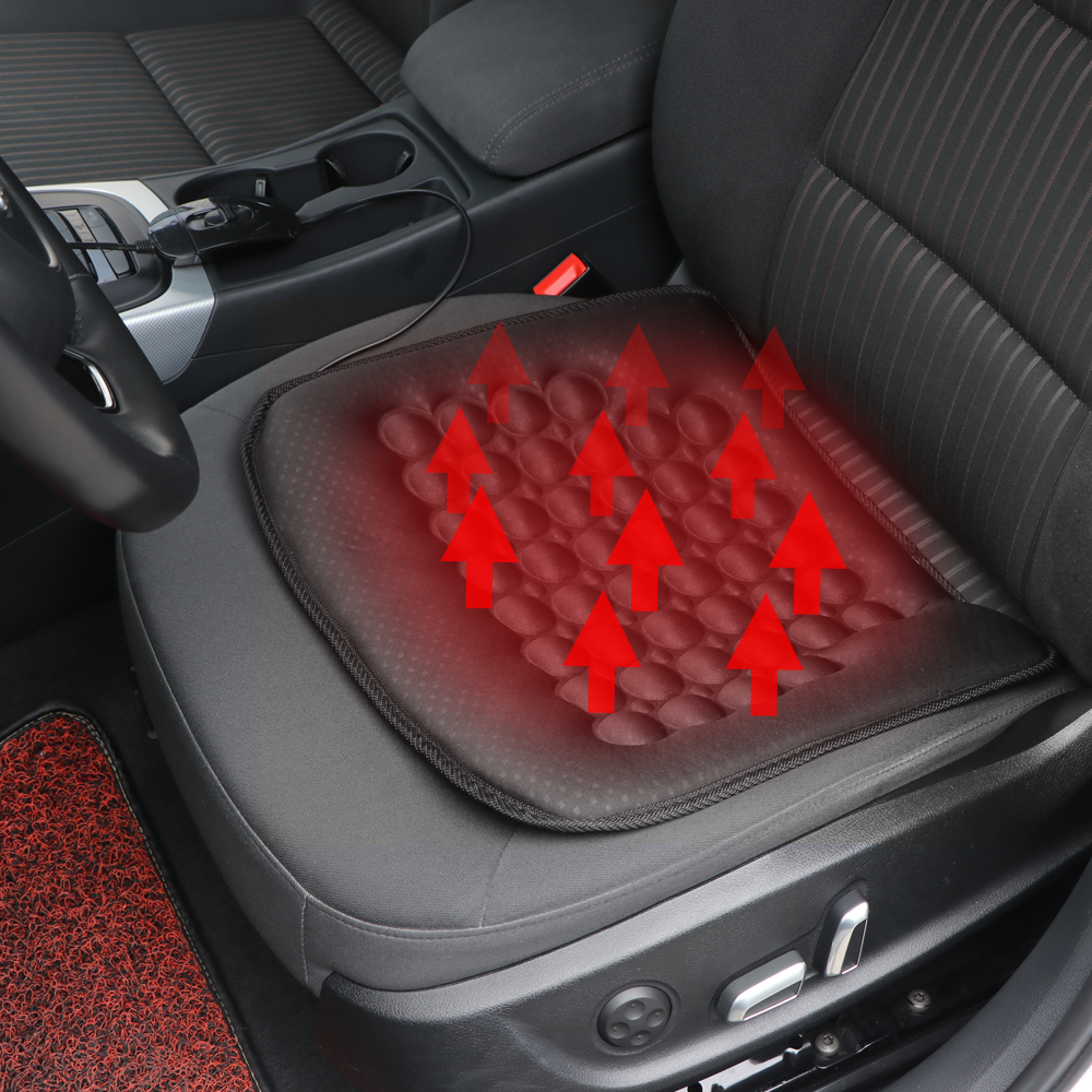 Carbon Fiber Seat Heater Kit English Circular High//Low Switch Setting 2 Seats Auto Interior Install Seat Covers New Car Heated Seat Cushion Hot Cover Auto 12V Heat Heating Warmer Pad-Winter WATERCARBON WATERCARBON 10-57