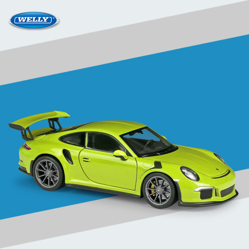 Porsche 911//997 gt3 RS-Cup Welly 1:18