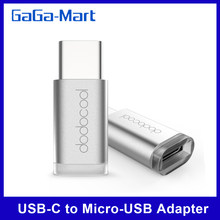 Адаптер dodocool Mini с разъемом USB type-C и Micro-usb для MacBook /OnePlus Two/Nokia/смартфона, USB-C(China)