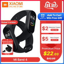 Xiaomi Bracelet Display Fitness-Tracker Smart-Band Instant Global-Version Colorful 4
