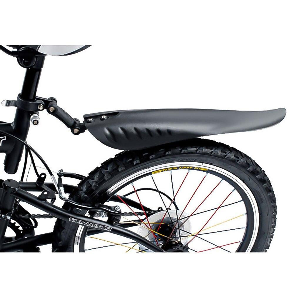 LQKYWNA PVC Bici Parafanghi Regolabile Parafango Anteriore Set Posteriore LED Posteriore di Bicicletta Parafango Set per Strada Bicicletta della Montagna