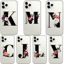 First letter A B C D E F G H I J K L M N O P Q R S T U V W X Y Z Case For iPhone 11 Pro