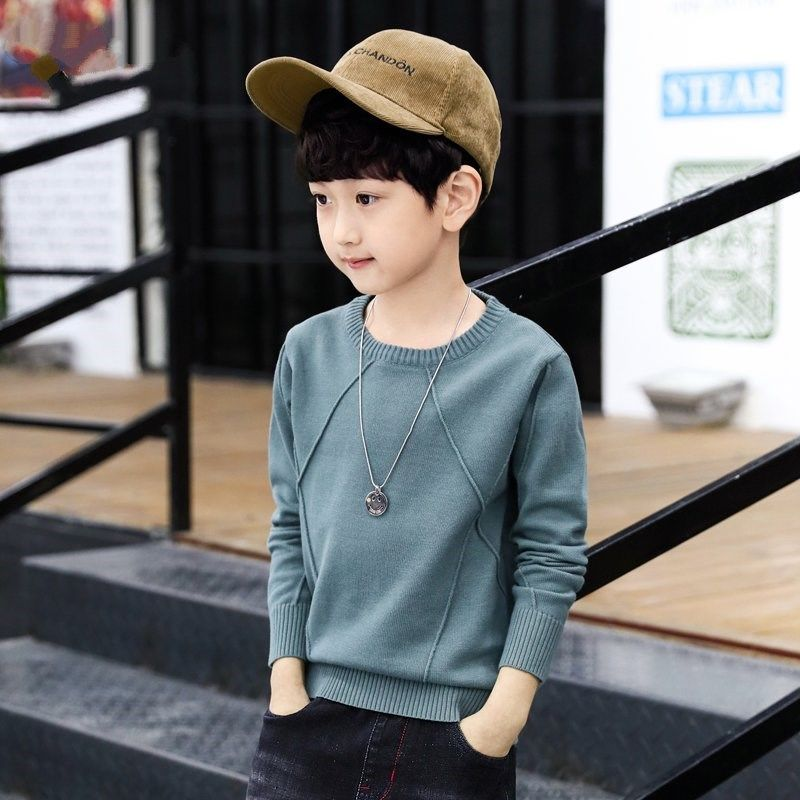 Boys Camouflage Knitted Jumper Kids Pullover Long Sleeve Sweater Top 3-12 Years