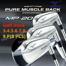Irons-Set Blade Golf-Clubs Back-Iron Golf-Forged-Irons MP20 Head-Cover Flex-Steel-Shaft