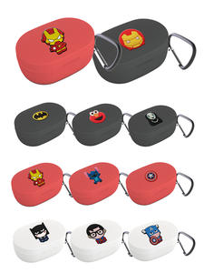 Earphone-Cover Keychain Protection-Frame Airdots-Case Avengers Redmi Xiaomi Cute