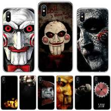 Saw Horror thriller movie terror Coque чехол для телефона iphone 4 4s 5 5s 5c se 6 6s 7 8 plus x xs xr 11 pro max(Китай)