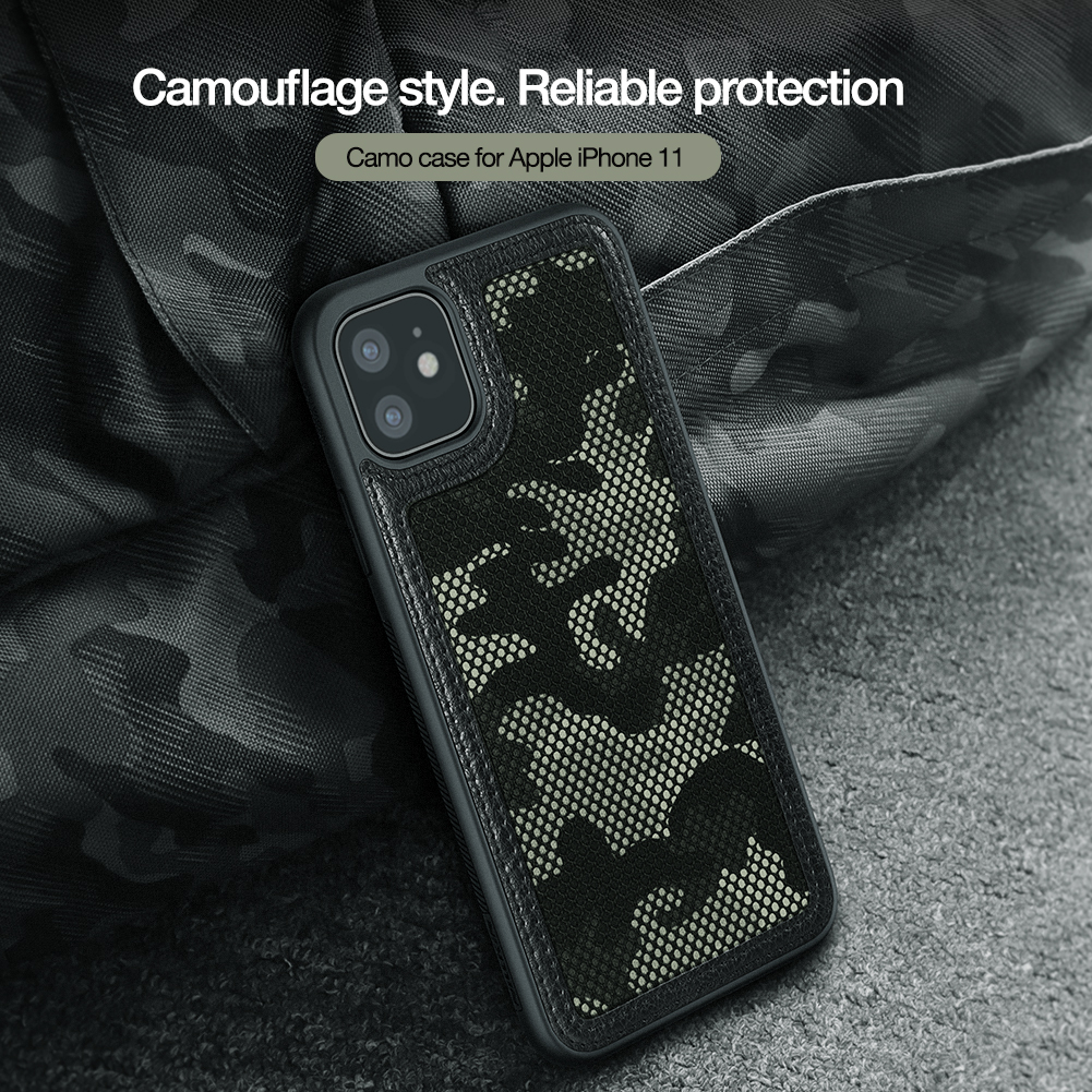 Mobile Phone - For Apple iPhone 11 Pro Max Military camouflage Protector Case Shell Anti-Knock Tough Back Cover For iPhone 11
