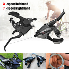 Right Lever-Shifter Bicycle Derailleur Bike Shimano Acera St-Ef500 3/7-Speed Hybrid Mountain