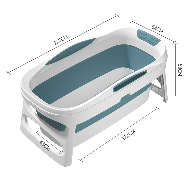 Bathtub Adult Home Sauna with Bathtub Cover Household Folding Bath Body Large Bath Barrel Thickened Tub Child Bathtub Artifact