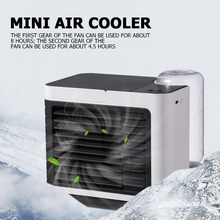 Fan Air-Conditioner Portable Desktop for Office Bedroom Purifier Mini-Usb