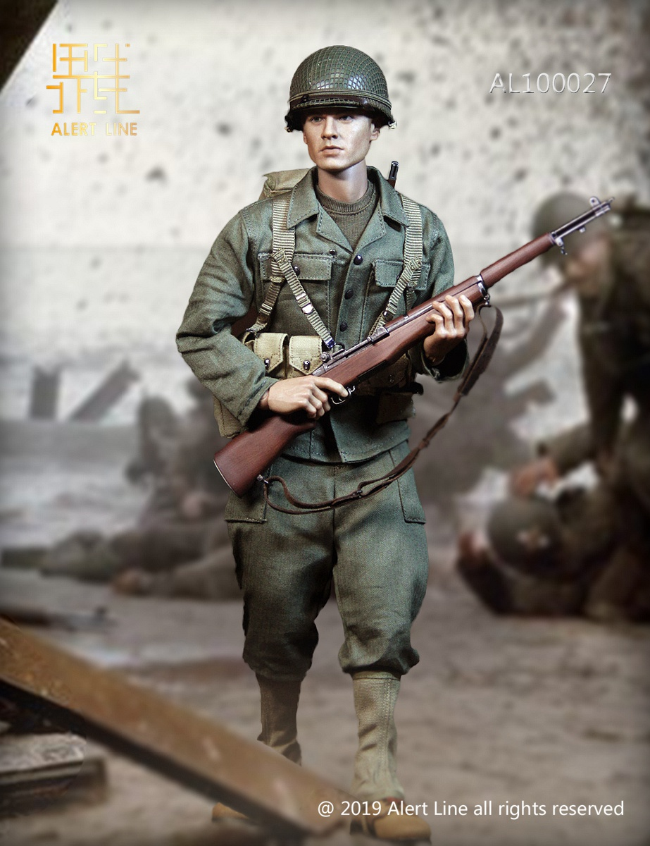 M1 Rifle Set for Alert Line AL100027 WWII US Army 1//6 Scale Action Figure