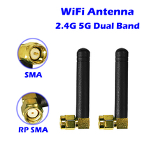 Антенна Wi-Fi 10 шт/20 пакет 2,4 ГГц Wi-Fi 5 ГГц 5,8 GHz Dual Band 3dbi Aeria для PCIe карты USB адаптер ITX плата сетевой маршрутизатор Bluetooth