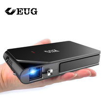 Wifi Projector Battery-Support Pocket Pico Airplay Small DLP Portable 1080P Wireless