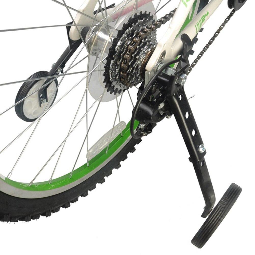sharprepublic Par de Ruedas de Entrenamiento de Bicicleta para 16 18 20 22 24 Pulgadas estabilizador de Bicicleta de una Sola Velocidad estabilizador Entrenador de Apoyo