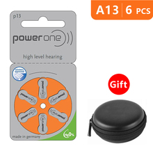 Batteries-Size Air-Battery Power-One-Pack P13 Zinc Za Orange PR48 Aid with Box-Case A13