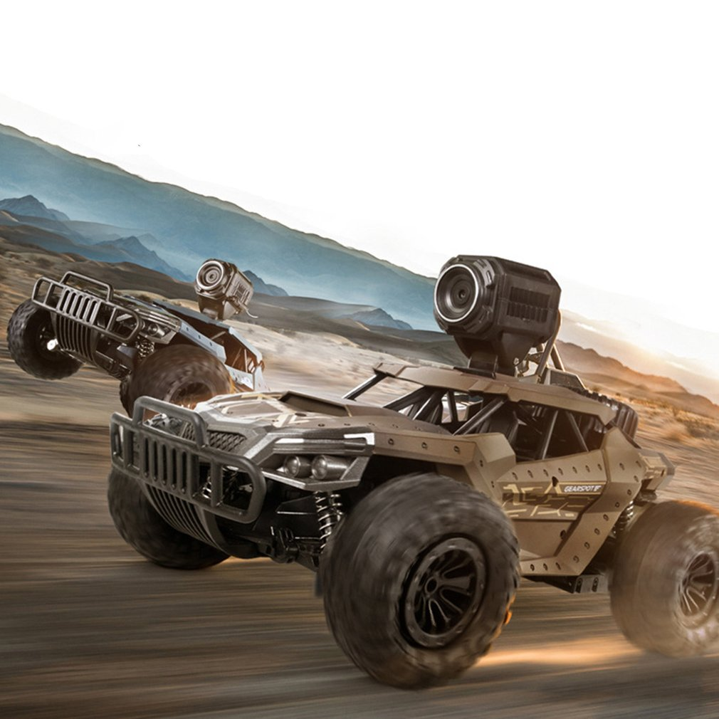 Machine - 2.4G Electric 4 Wheel Drive Buggy Rock Crawler RC Car RC Trucks Off-Road Vehicle With 480P Camera