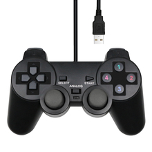 Gamepad Computer Game-Joystick Wired Laptop Usb-Controller Win8/win10 Black for PC