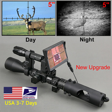 Riflescope Hunting Scopes-Optics Sight Night-Vision Tactical Infrared IR 850nm LED Waterproof