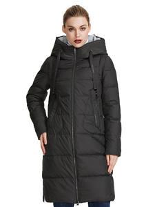 MIEGOFCE 2019 Новая зимняя женская коллекция курток куртки женские зимние длина ниже колен ветрозащитный женская куртка со стоячим воротником и ...