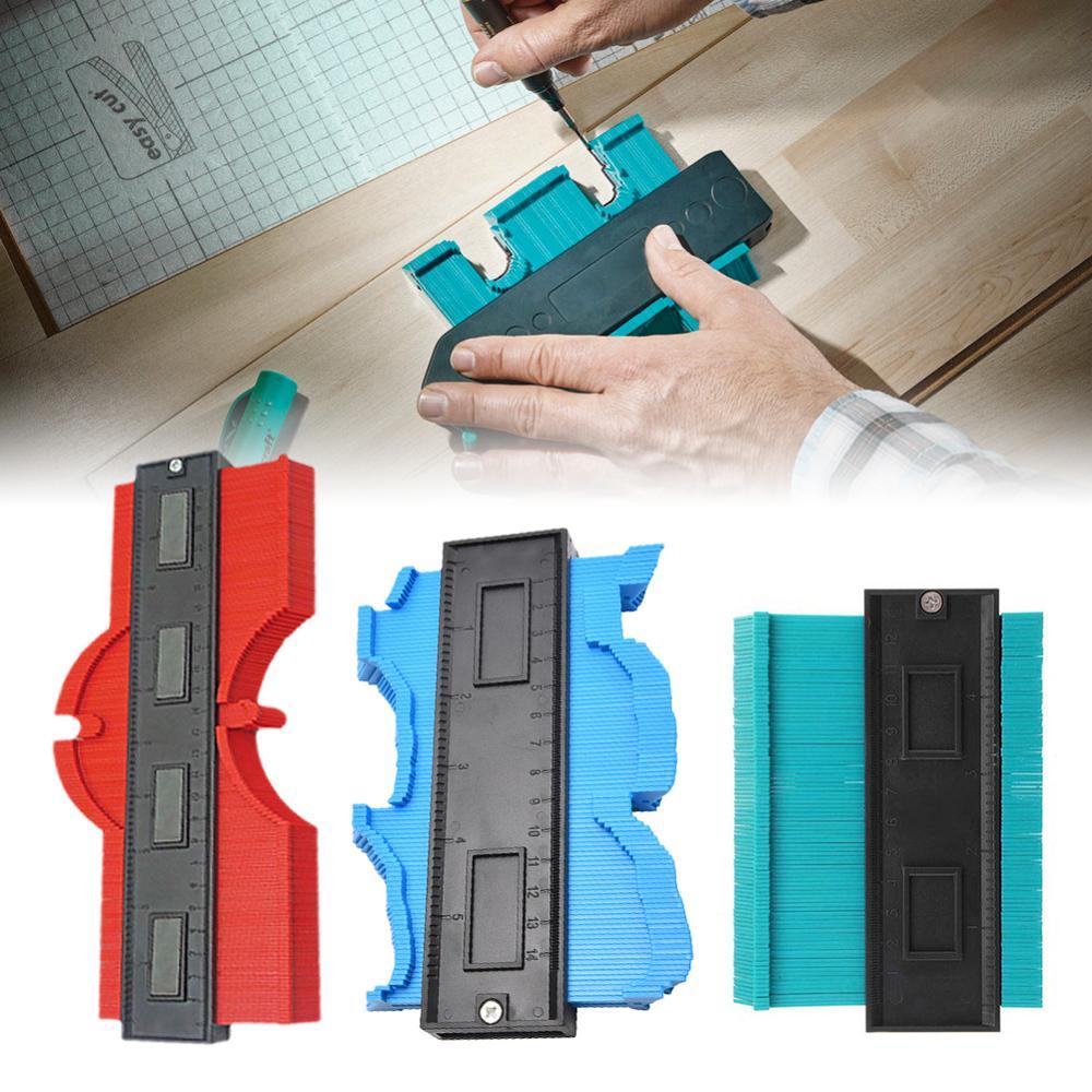 5/'Profile Gauge Shape Edge Shaping Contour Duplicator Tiling Wood Measure Metal